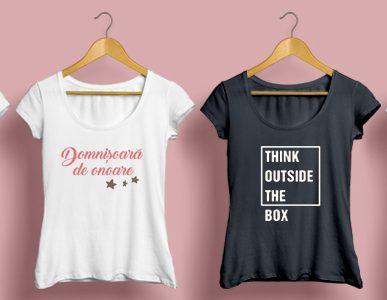 Ce poti face cu un tricou personalizat?